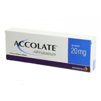 Аколат (Accolate) 20мг, 56 таблеток