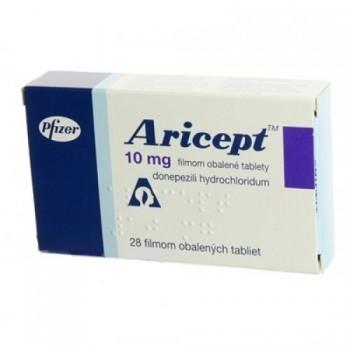 Арисепт ( Aricept) 10мг, 28 таблеток