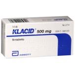 Клацид (Klacid) 500 мг, 14 шт