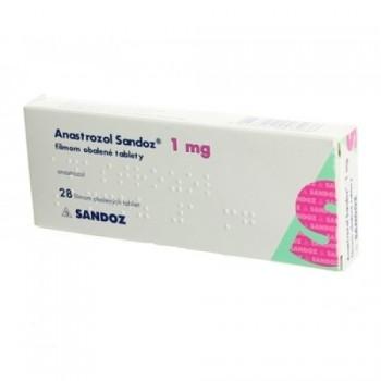 Анастрозол  Сандоз (Anastrozol Sandoz)  1 мг, 28 таблеток
