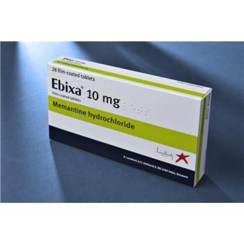 Абикса (Ebixa) 10 мг, 28 таблеток