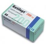 Кетилепт (Ketilept) 200мг, 60таблеток