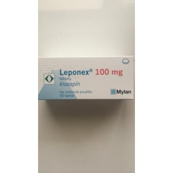 Лепонекс (Leponex) 100 мг, 50 таблеток