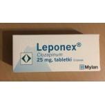 Лепонекс (Leponex) 25 мг, 50 таблеток