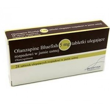 Оланзапин (Olanzapine) 5мг, 28 таблеток (растворимые во рту)
