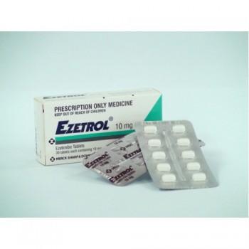 Эзетрол (Ezetrol) 10 мг, 28 таблеток