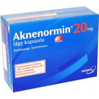 Акненормин (Aknenormin) капс. 20мг,  №30