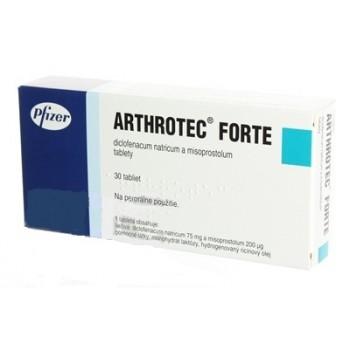 Артротек Форте (Arthrotek Forte) 75мг+200мг, 30 таблеток