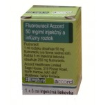 Фторурацил (Fluorouracil) Аккорд 250 мг фл, 5 мл, № 1