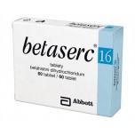 Бетасерк (Betaserc) 16 мг, 60 таблеток