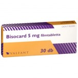 Бисокард (Bisocard) 5 мг, 30 шт