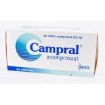 Кампрал (Campral) акампросат  333мг, 84 шт
