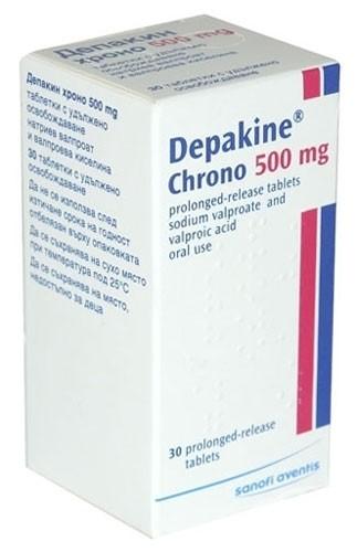 Депакин Хроно (Depakine