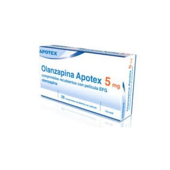 Оланзапин (Olanzapine) Apotex 5мг, 28 таблеток