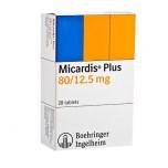 Микардис плюс (Micardis) 80 мг + 1,25мг , 28 таблеток