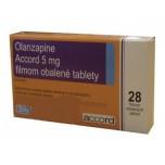 Оланзапин (Olanzapine) Accord 5мг, 28 таблеток