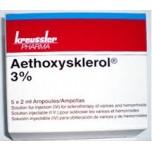 Этоксисклерол (Aethoxysklerol)  ампулы 3% , 2 мл , 5 шт.