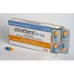 Страттера (Strattera) 60 мг, 28 капсул
