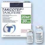 Таксотер (Taxotere) 20мг, 1мл, фл. N1