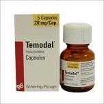 Темодал (Temodal) 20 мг, 5 капсул