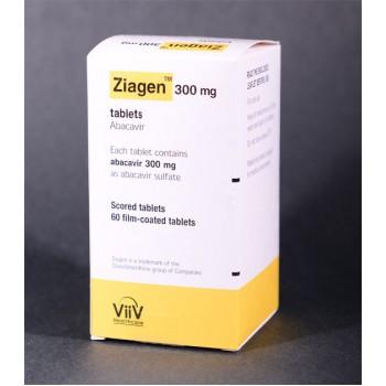 Зиаген (Ziagen) 300 мг, 60 таблеток