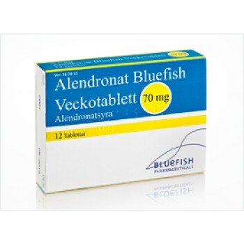 Алендронат (Alendronat) Bluefish 70мг , 4 шт