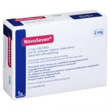 Новосевен (Novoseven) 2мг пор,  д/пригот, р-ну д/ін, 100 КМЕ инсулин