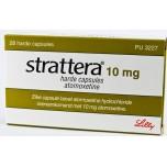 Страттера (Strattera) 10 мг, 28 капсул