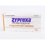 Зипрекса (Zyprexa) 5 мг, 28 таблеток